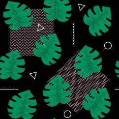 Modern Kitchen Images Sinks Lowes 矢量热带绿色蓝色花无缝重复图案背景设计。伟大的夏季派对邀请函、 织物、 壁纸、 Giftwrap 纸 — 图库矢量 ...