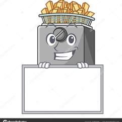 Kitchen Fryer Remodel Okc 在厨房里笑着板卡通油炸锅 图库矢量图像 C Kongvector 215673494 微笑与板卡通油炸锅在厨房矢量插图 矢量图片kongvector