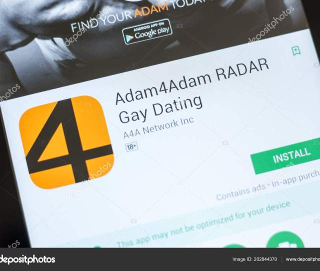 Ryazan Russia July 03 2018 Adam4adam Radar Gay Dating Icon In The List Of Mobile Apps Photo By