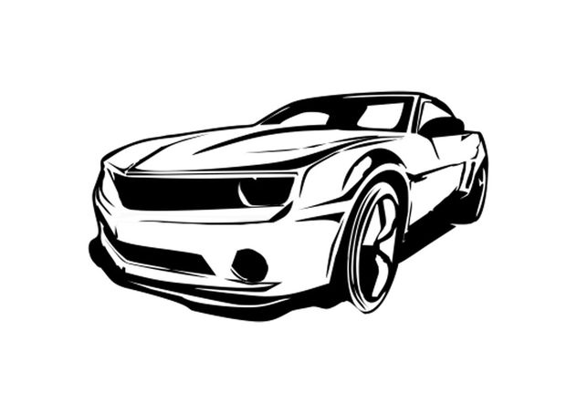 Descargar Vector Carro Camaro Vector Limpio Gratis 162095