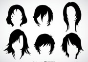 dreadlocks hairstyle vector free
