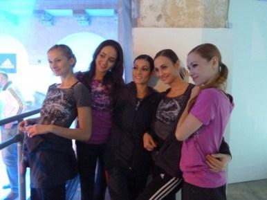 Elena Pris, Sarah Mestrovic, Maria Giambona, Krasina Pavlova, Iana Balova