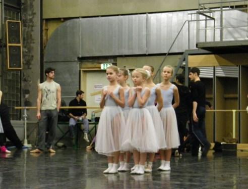 Ballettschülerinnen
