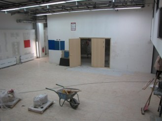 Foyer de la danse, mit Blick auf den Besprechungsraum.