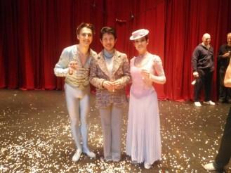 Dinu Tamazlacaru & Maria Giambona mit Prinzessin Takamado.
