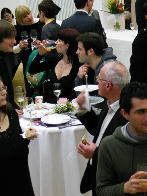 Dmitry Semionov, Beatrice Knop und Mehmet Yümak.