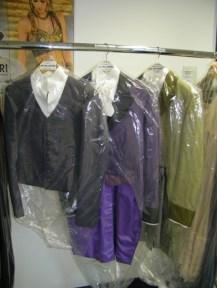 Die Kostüme für Lenski...