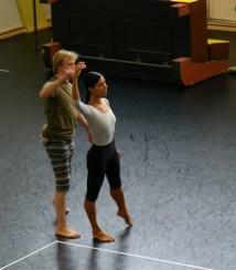 Vladimir Malakhov und Elisa Carrillo Cabrera bei der Probe.
