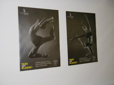Vladislav Marinov & Elena Pris auf den Plakaten von Tanz ist KLASSE!