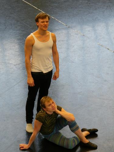 Im Ballettsaal probt...