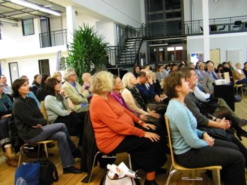 Das interesseirte Publikum.