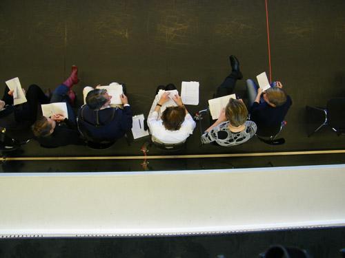 Die Jury von oben. :-)