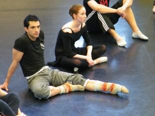 Javier Peña Vazquez & Valeria Manakova können sich eine Verschnaufpause gönnen.