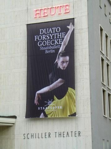 ... kurz vor der Premiere von DUATO   FORSYTHE   GOECKE.