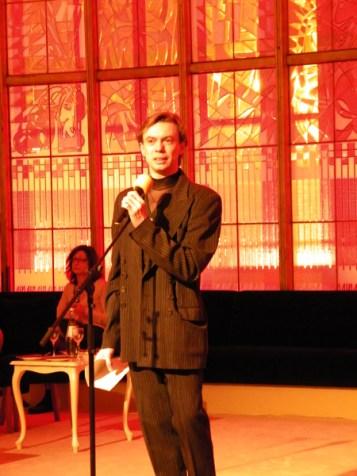 Vladimir Malakhov bei der anschließenden Dankesrede.