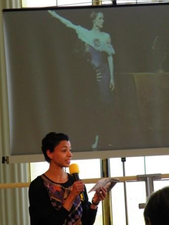 Zum Beispiel sprach Mariama Daigne (FU Berlin) über Tatjana und Onegin.