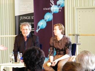 ... das Künstlergespräch mit Boris Eifman und Vladimir Malakhov statt.