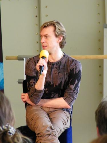 Vladimir Malakhov auf der Bühne.