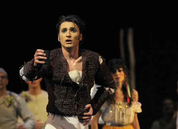 Dinu als Mercutio in ROMEO UND JULIA | Foto: Bettina Stöß