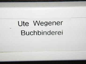 Ute Wegeners Reich.