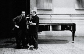 Maurice Béjart und Bertrand d'At