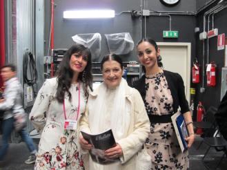 Maria Giambona, Carla Fracci und Polen Gezmis