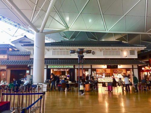 中部国際空港セントレア 4階 スタバ