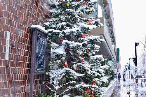 正月の札幌グランドホテルスタバ