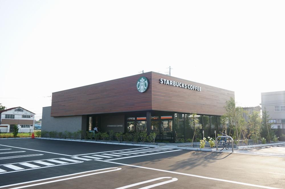 函館五稜郭駅前店 スタバ ドライブスルー