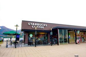 スタバ スターバックス 南条サービスエリア(上り線)店