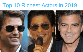 Top 10 Richest Actors in 2019