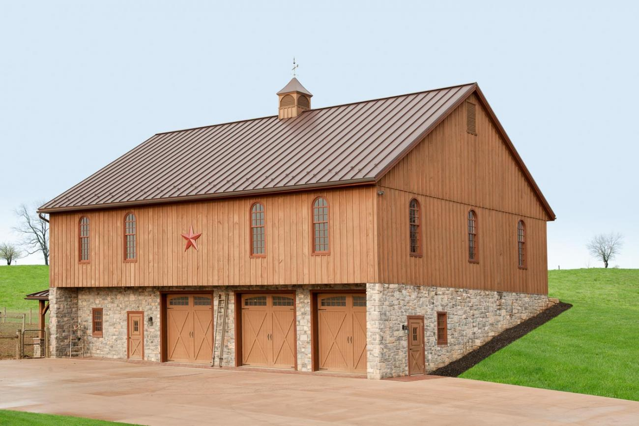 Pennsylvania Bank Barn Construction
