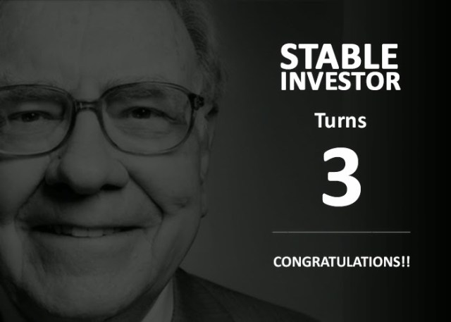 Stable Investor Birthday