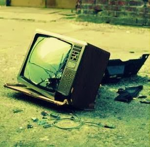 Broken Television Save Money