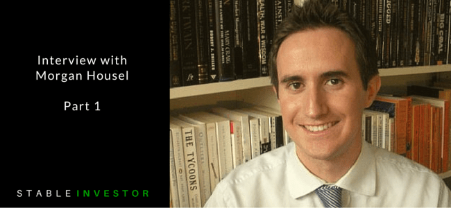 Morgan Housel Interview Part 1