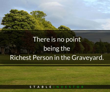 richest man graveyard