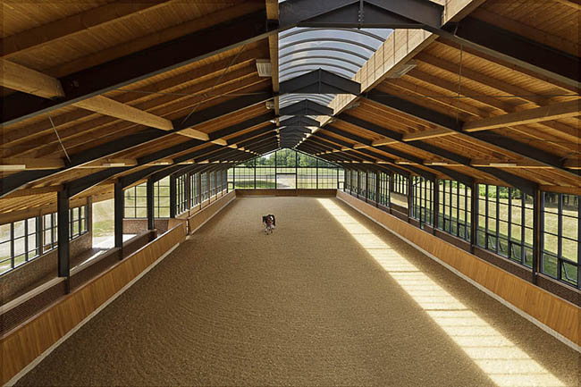 8 Stunning Covered Riding Arenas