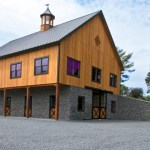 Newly Designed Bank Barn