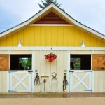 A Colorful Washington Stable with Great Design