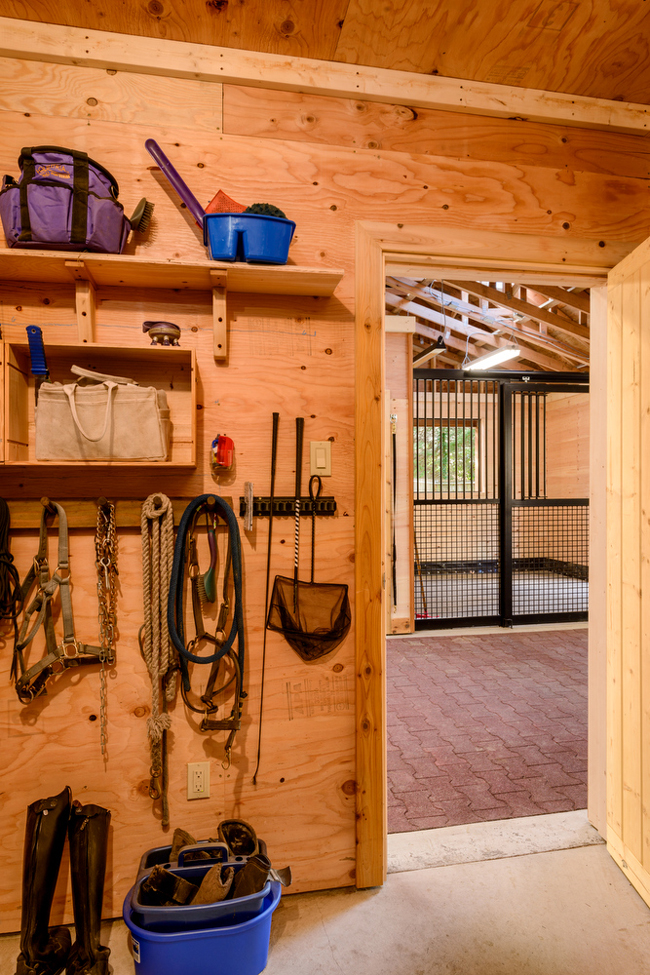 A Two Stall Barn Designed With The Horse In Mind Stable
