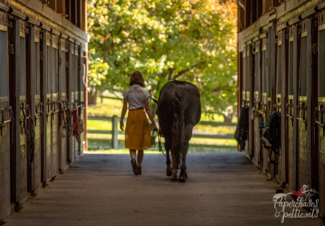 Stable Style in the barn with Lindsay