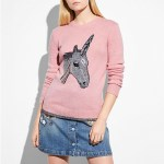 Whimsical Pink Unicorn Accessories from Coach