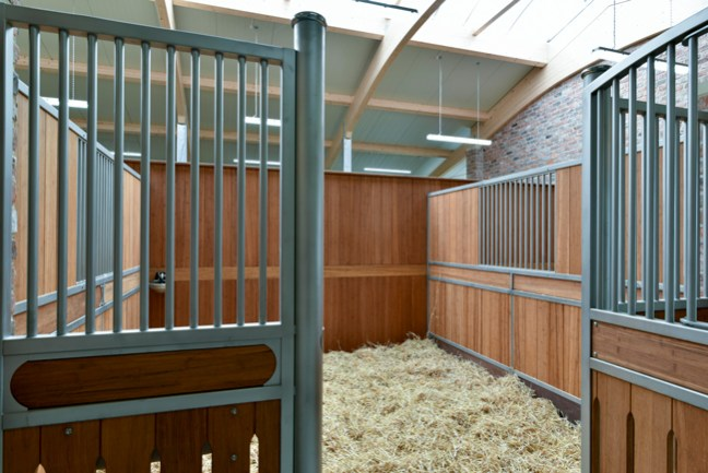 well bedded stall