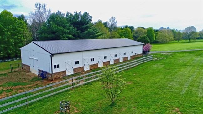 horse barn with dutch doors