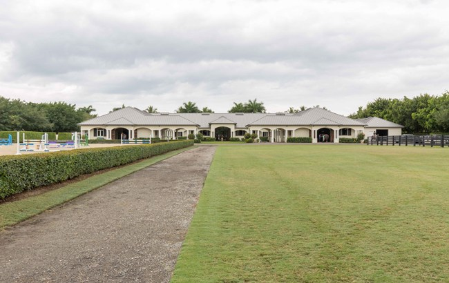 stunning stables in Wellington, Florida