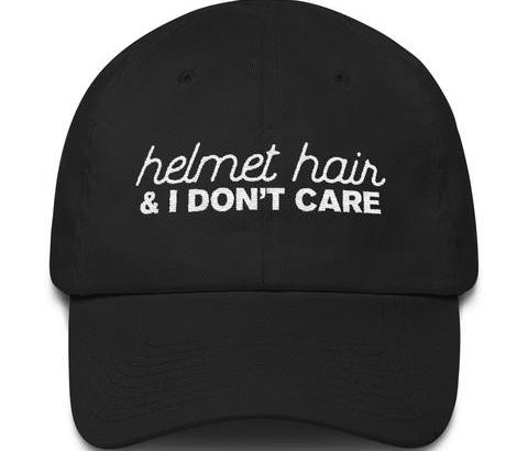 helmet hair cap