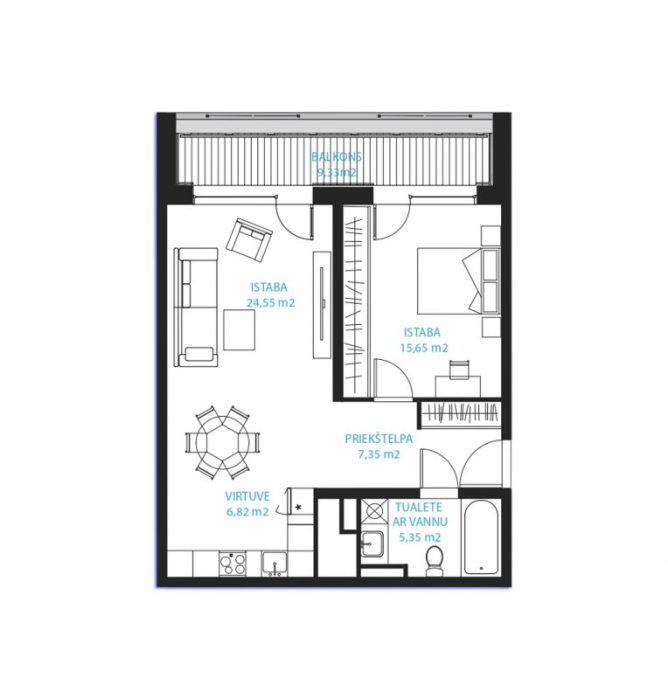 Dzīvoklis Nr.27