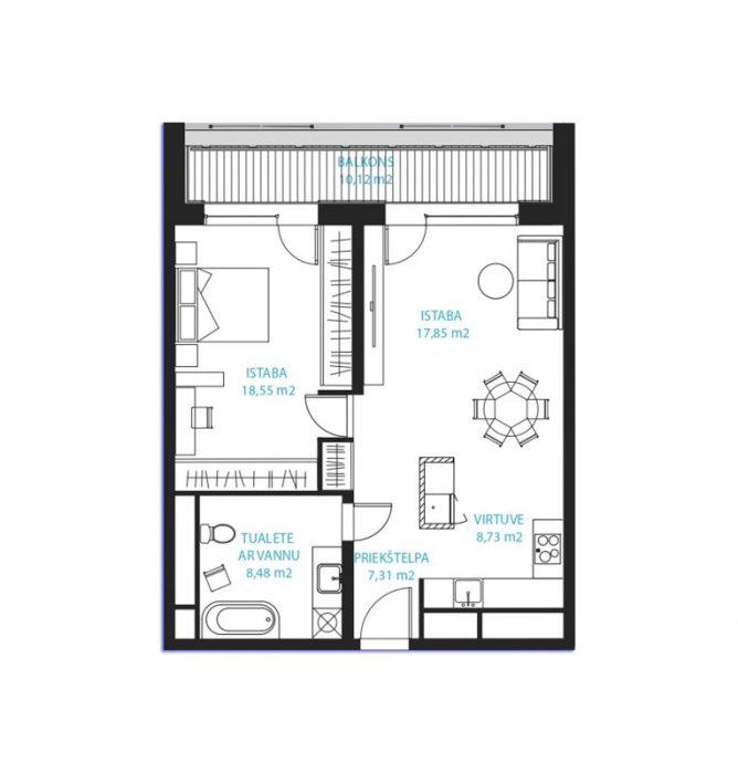 Dzīvoklis Nr.28