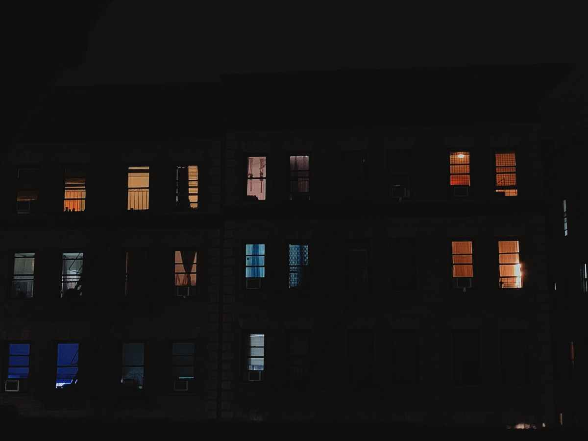 Some Night at a Window
