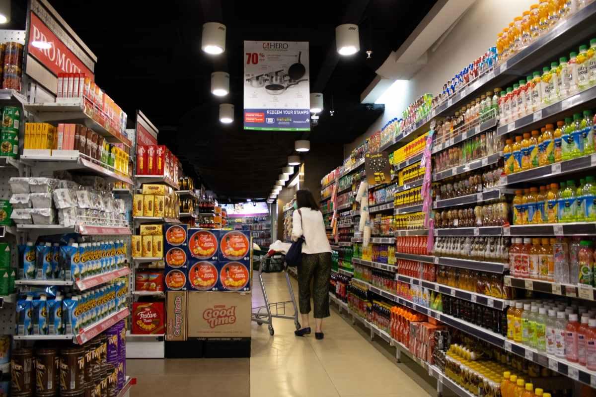Supermarket Library